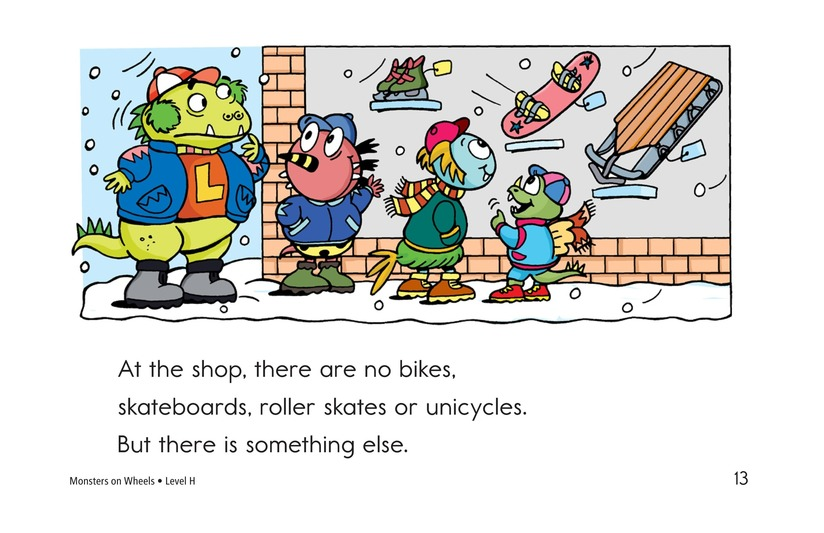 Book Preview For Monsters on Wheels Page 13