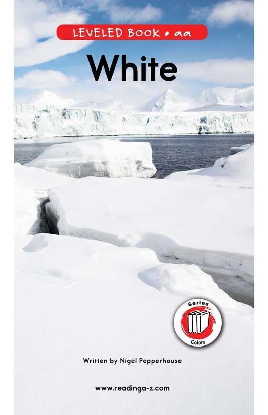 Book Preview For White Page 0