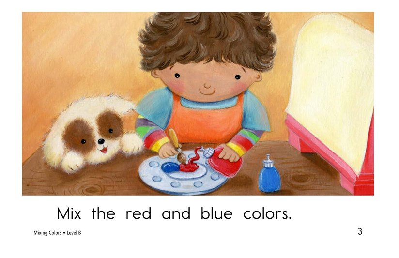 Book Preview For Mixing Colors Page 3