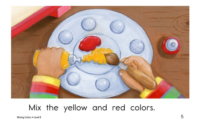 Book Preview For Mixing Colors Page 5