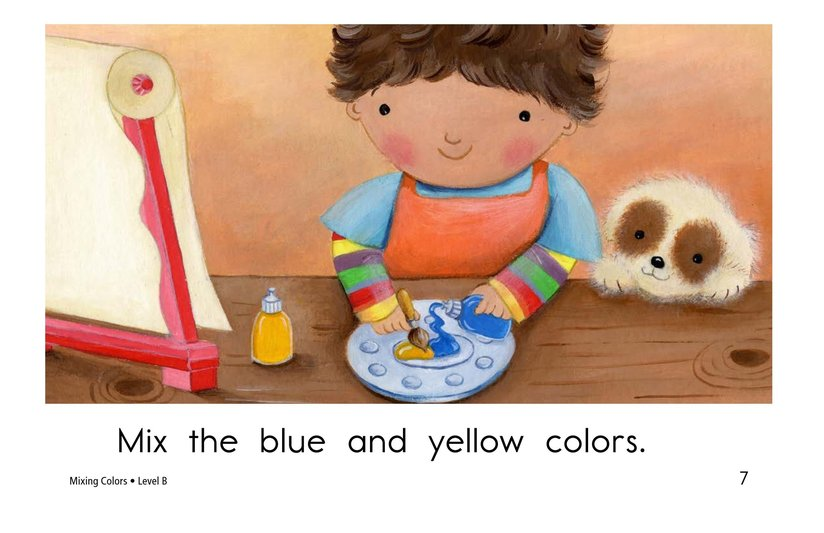 Book Preview For Mixing Colors Page 7