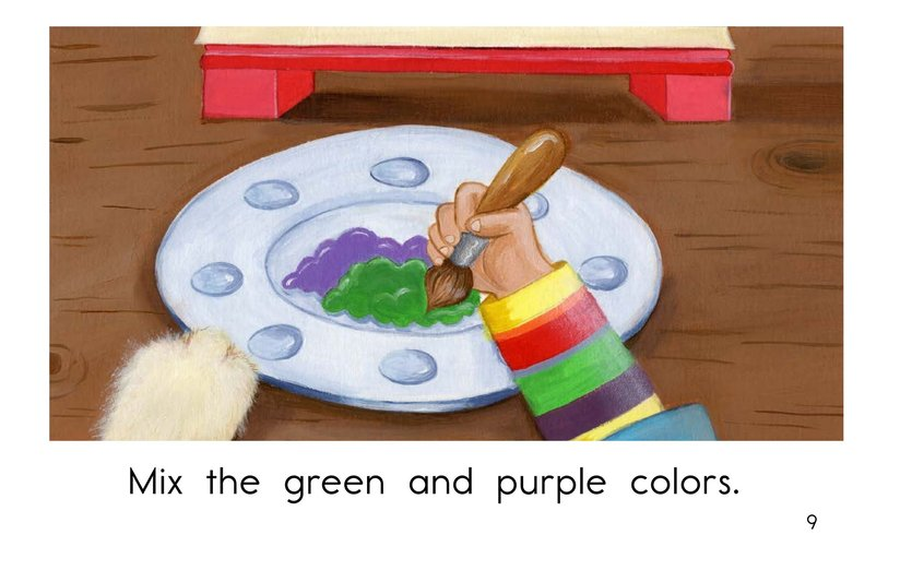 Book Preview For Mixing Colors Page 9