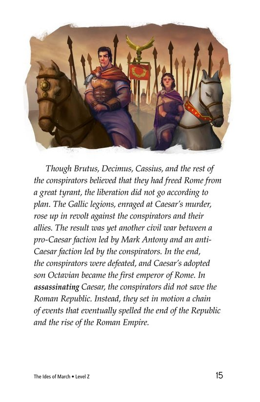 Book Preview For The Ides of March Page 15