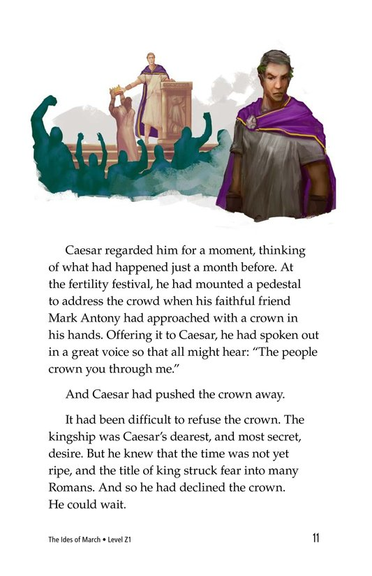 Book Preview For The Ides of March Page 11