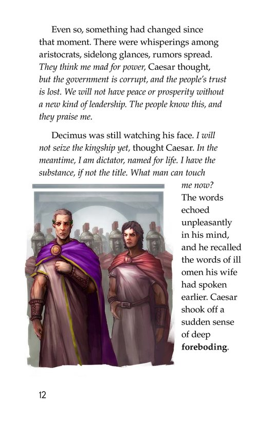 Book Preview For The Ides of March Page 12