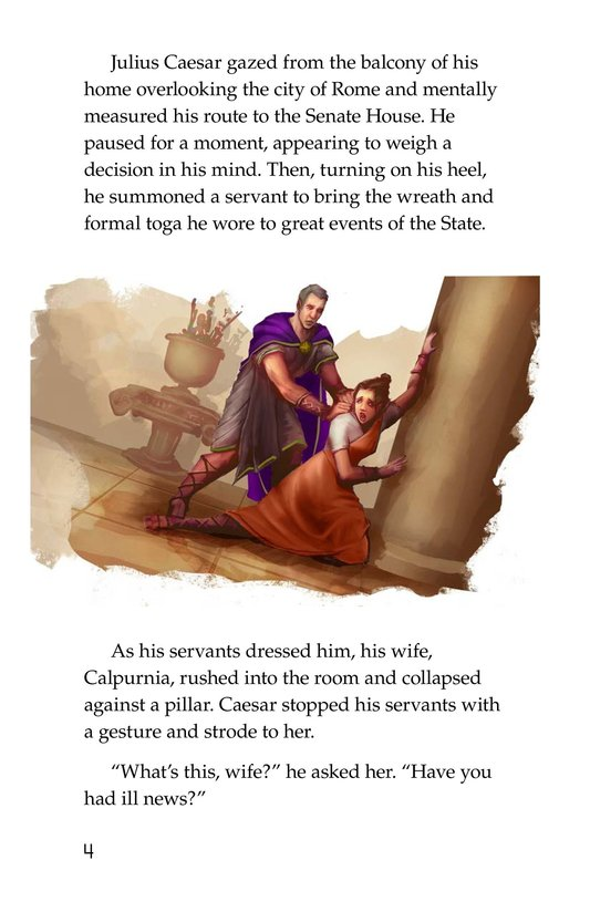 Book Preview For The Ides of March Page 4