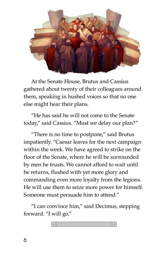 Book Preview For The Ides of March Page 6