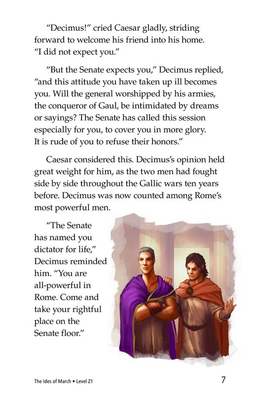 Book Preview For The Ides of March Page 7