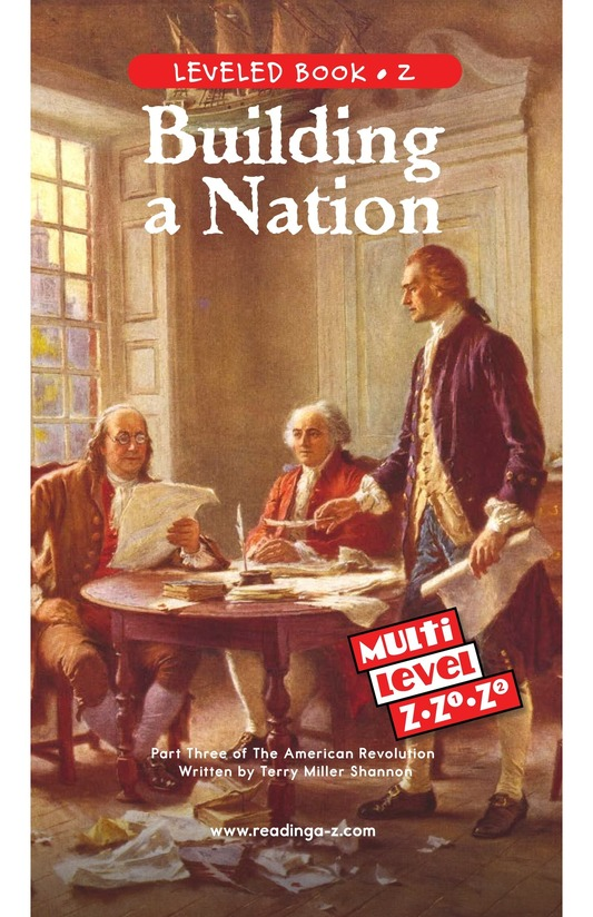 Book Preview For Building a Nation Page 0