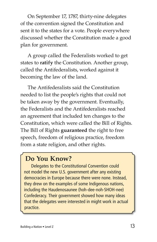 Book Preview For Building a Nation Page 13