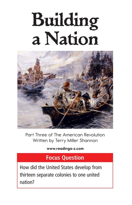 Book Preview For Building a Nation Page 1
