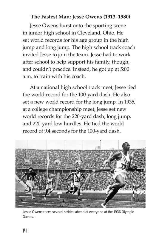 Book Preview For American Sports Legends Page 14