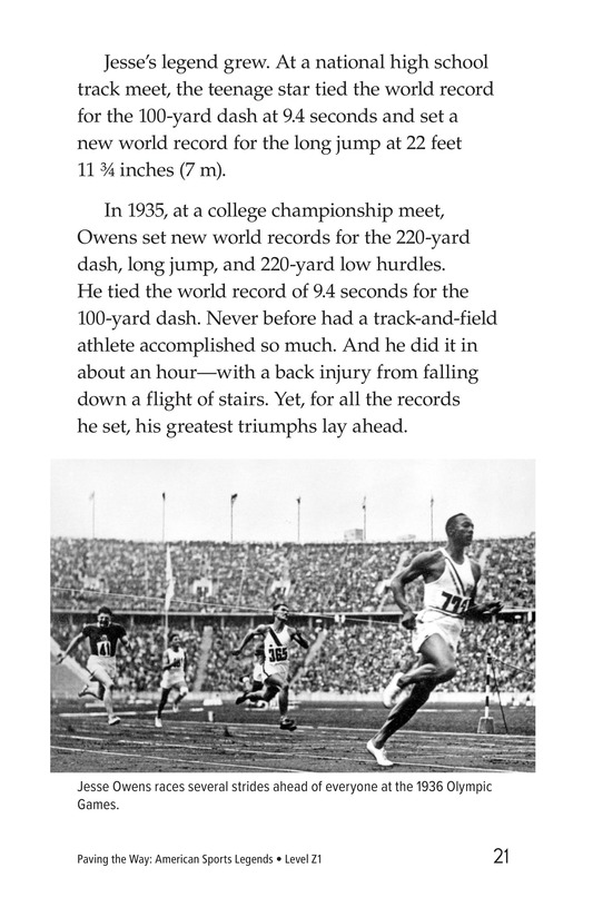 Book Preview For American Sports Legends Page 21