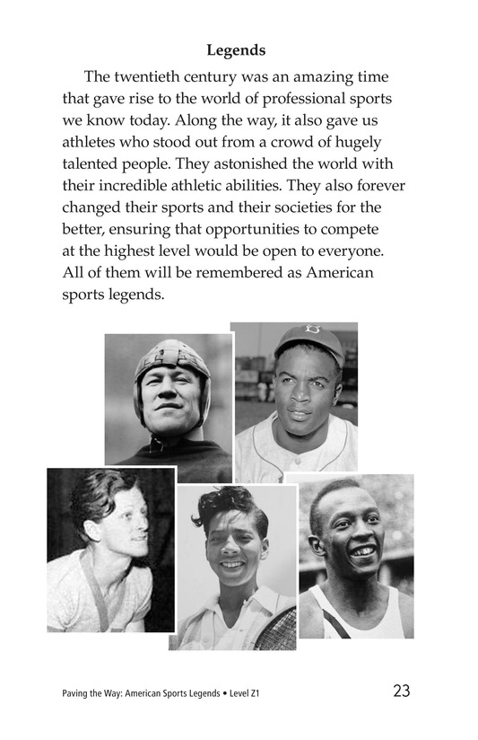 Book Preview For American Sports Legends Page 23