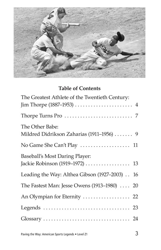 Book Preview For American Sports Legends Page 3