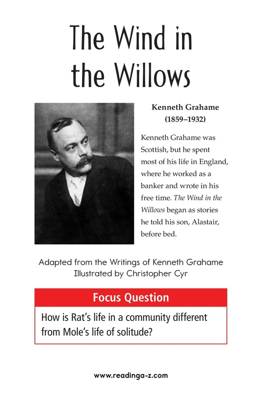 Book Preview For The Wind in the Willows (Part 1) Page 1