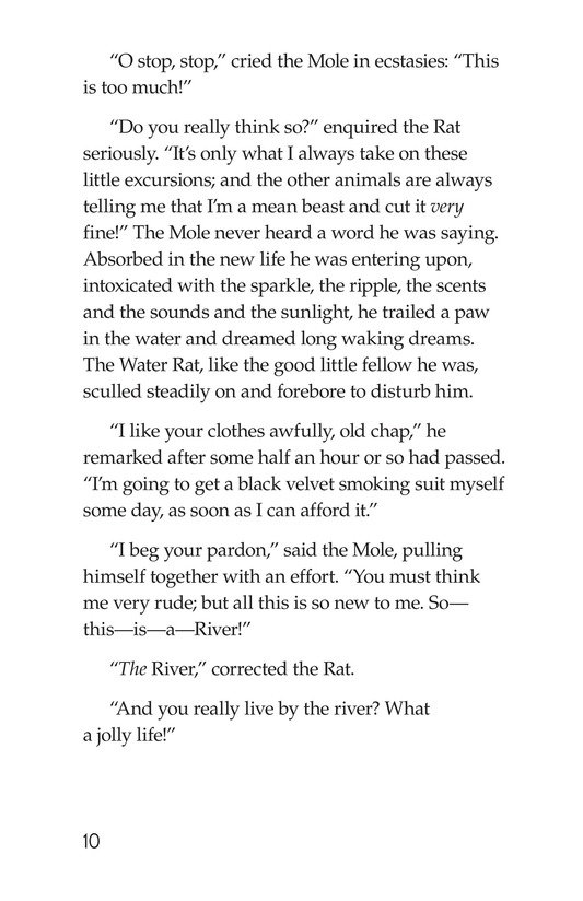 Book Preview For The Wind in the Willows (Part 1) Page 10