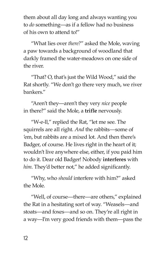 Book Preview For The Wind in the Willows (Part 1) Page 12