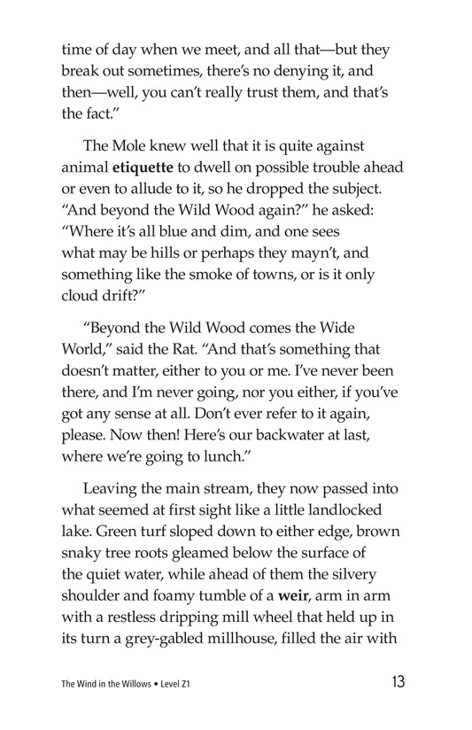Book Preview For The Wind in the Willows (Part 1) Page 13