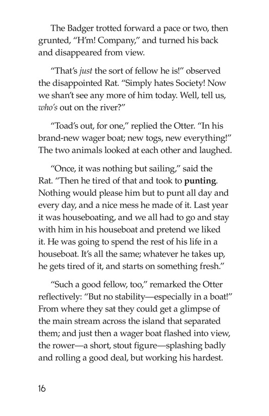 Book Preview For The Wind in the Willows (Part 1) Page 16