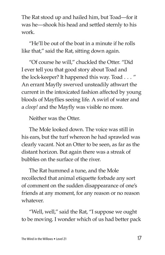 Book Preview For The Wind in the Willows (Part 1) Page 17