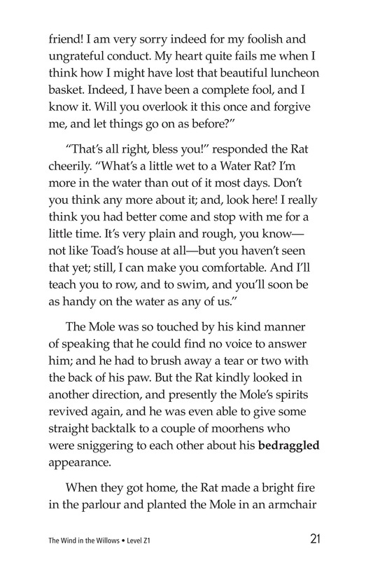 Book Preview For The Wind in the Willows (Part 1) Page 21