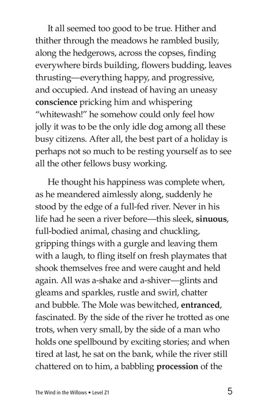 Book Preview For The Wind in the Willows (Part 1) Page 5