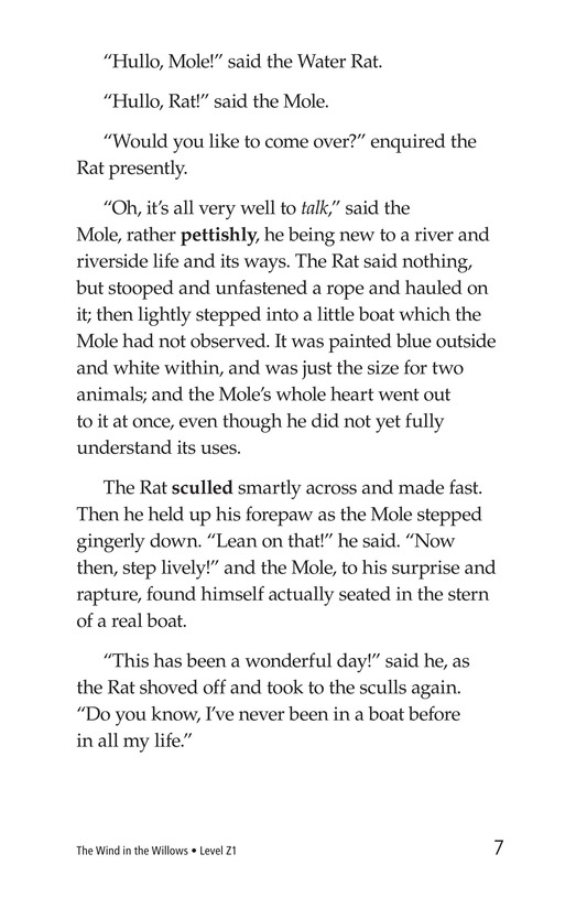 Book Preview For The Wind in the Willows (Part 1) Page 7