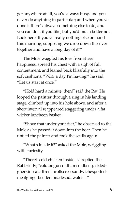 Book Preview For The Wind in the Willows (Part 1) Page 9