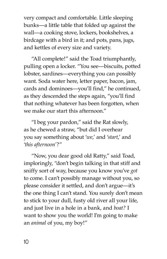 Book Preview For The Wind in the Willows (Part 2) Page 10