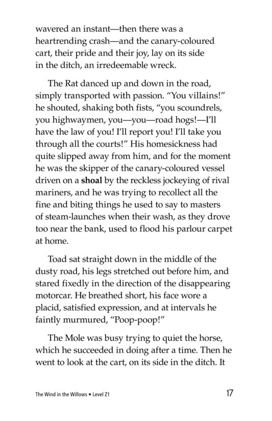 Book Preview For The Wind in the Willows (Part 2) Page 17