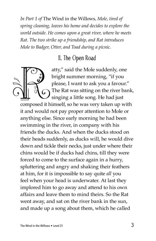 Book Preview For The Wind in the Willows (Part 2) Page 3