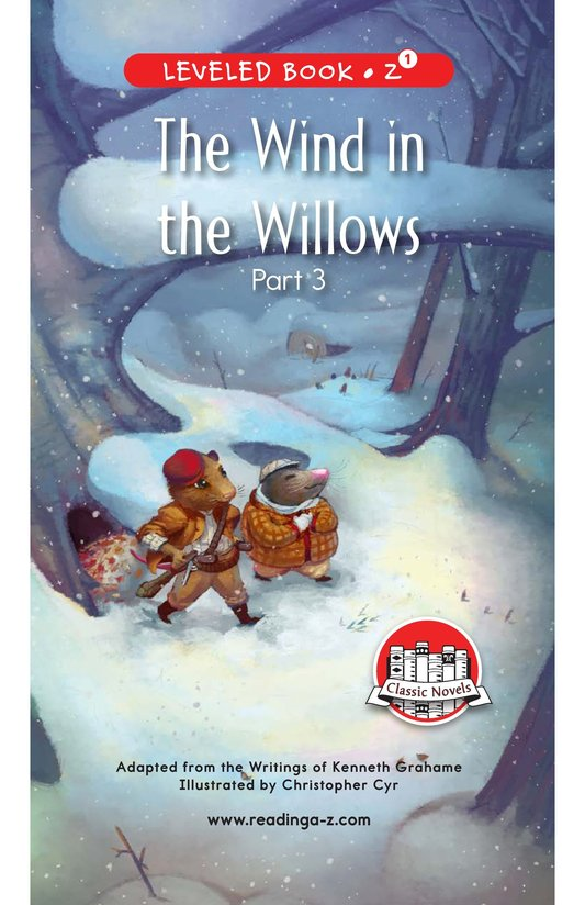 Book Preview For The Wind in the Willows (Part 3) Page 0