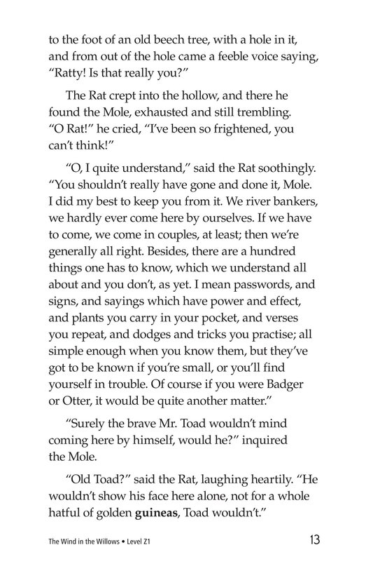 Book Preview For The Wind in the Willows (Part 3) Page 13