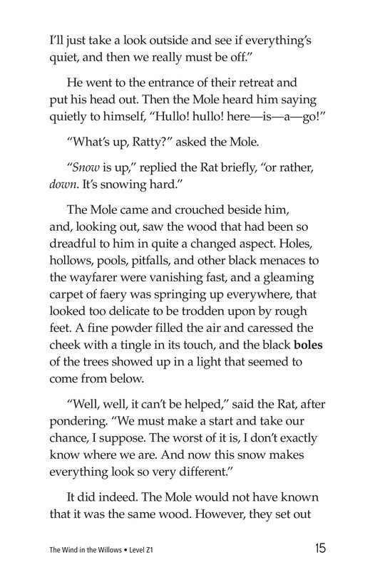 Book Preview For The Wind in the Willows (Part 3) Page 15