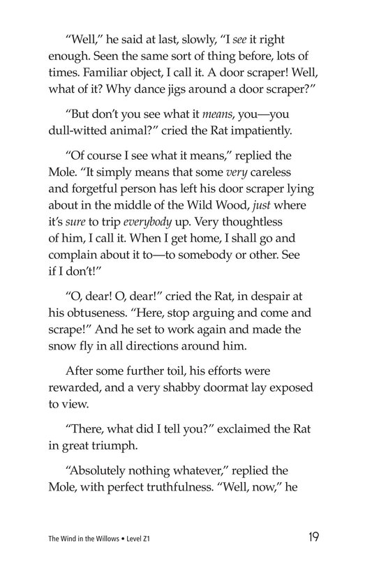 Book Preview For The Wind in the Willows (Part 3) Page 19