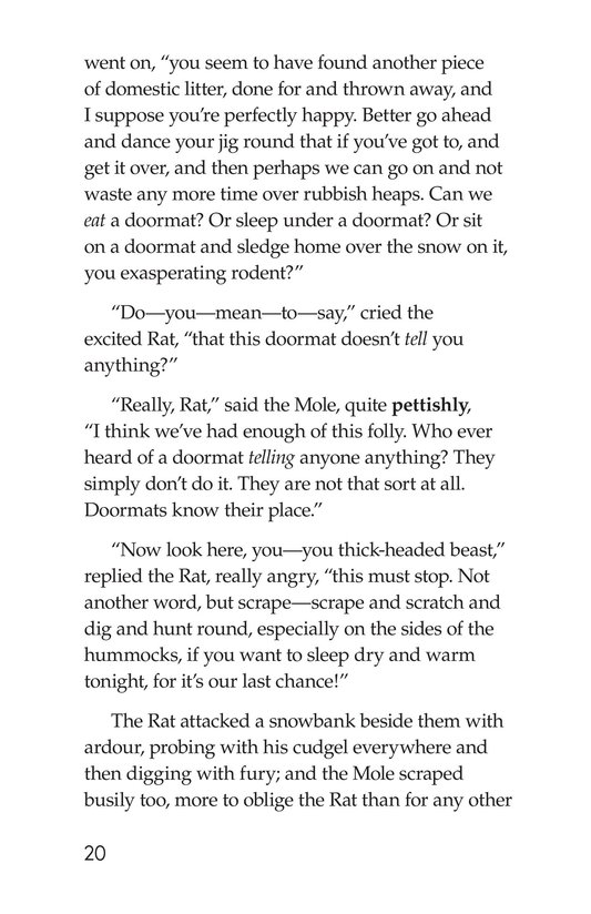 Book Preview For The Wind in the Willows (Part 3) Page 20