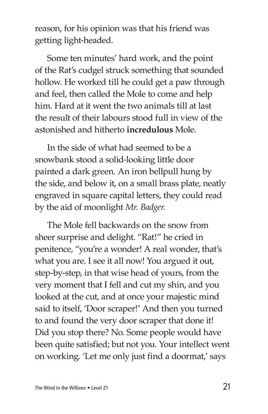 Book Preview For The Wind in the Willows (Part 3) Page 21