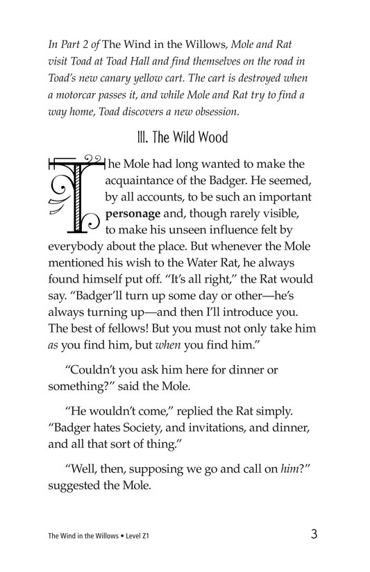 Book Preview For The Wind in the Willows (Part 3) Page 3