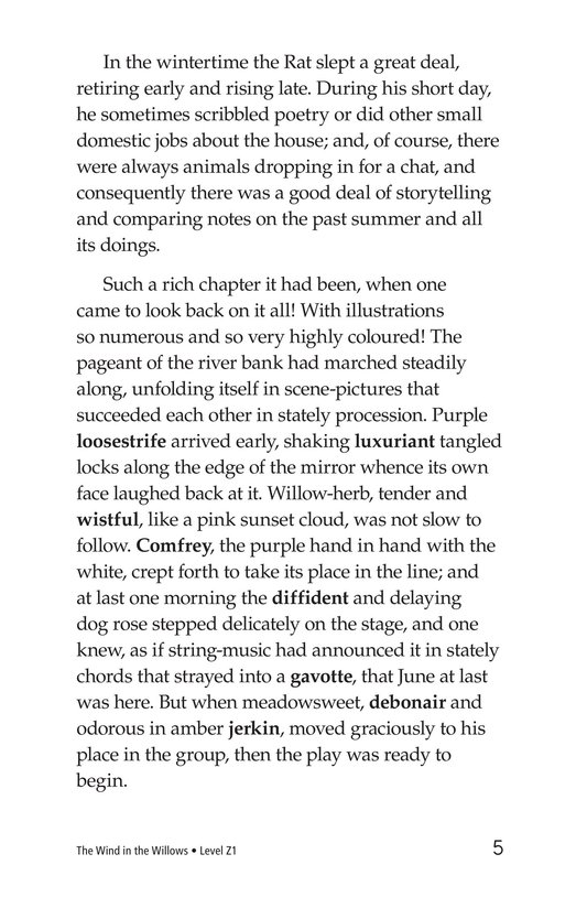 Book Preview For The Wind in the Willows (Part 3) Page 5