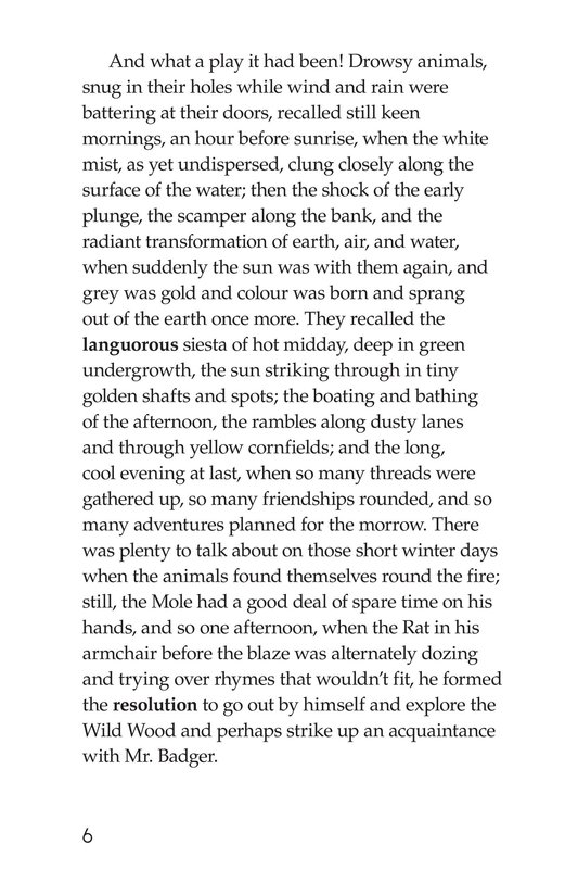 Book Preview For The Wind in the Willows (Part 3) Page 6
