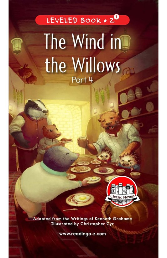 Book Preview For The Wind in the Willows (Part 4) Page 0