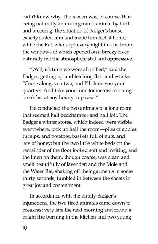 Book Preview For The Wind in the Willows (Part 4) Page 10