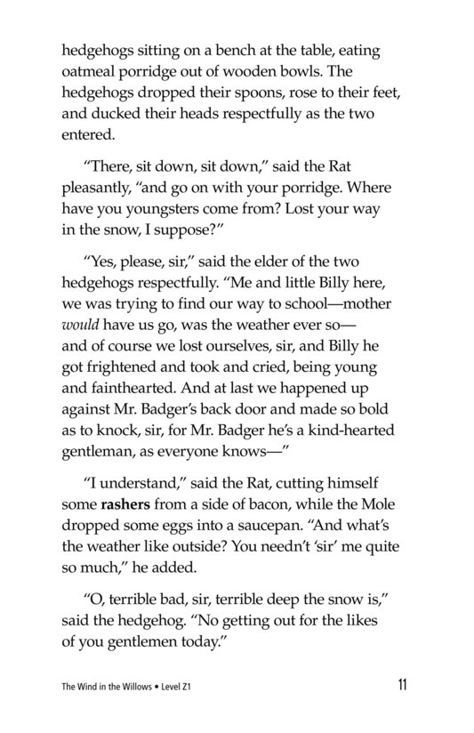 Book Preview For The Wind in the Willows (Part 4) Page 11