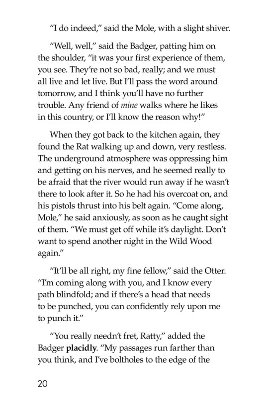 Book Preview For The Wind in the Willows (Part 4) Page 20