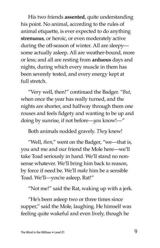 Book Preview For The Wind in the Willows (Part 4) Page 9