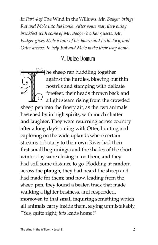 Book Preview For The Wind in the Willows (Part 5) Page 3
