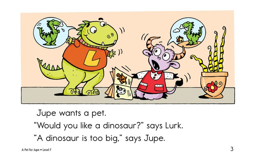 Book Preview For A Pet for Jupe Page 3