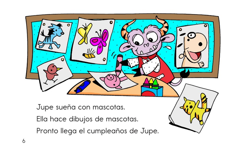 Book Preview For A Pet for Jupe Page 6