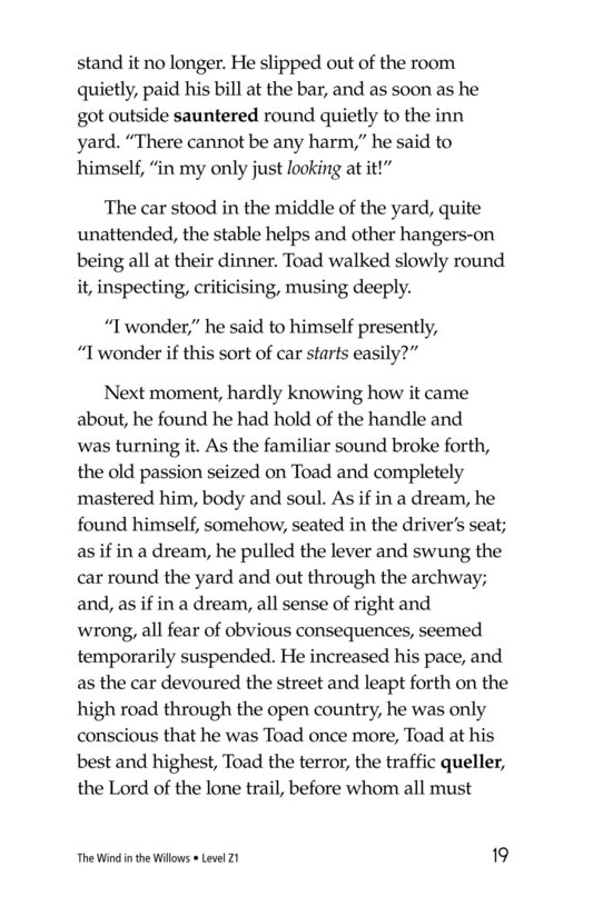 Book Preview For The Wind in the Willows (Part 6) Page 19